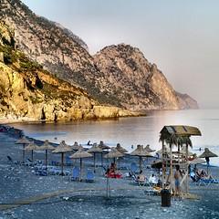 Crete - Sougia beach - by Atli Harðarson
