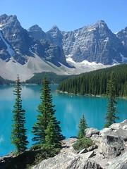 Moraine Lake (hannahkc) Tags: banff morainelake tumblrpic