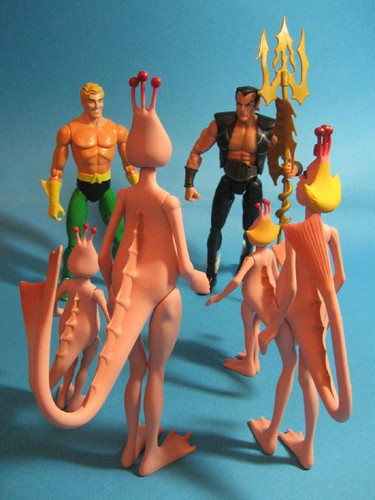 Aquaman, Namor and the Sea Monkeys