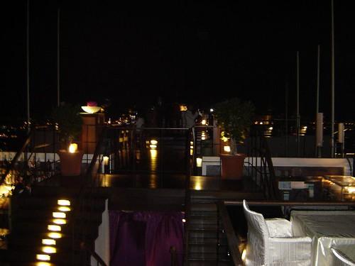 Vista del restaurante Vertigo