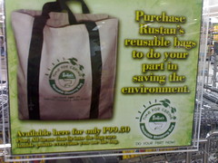 Go green with reusable bags