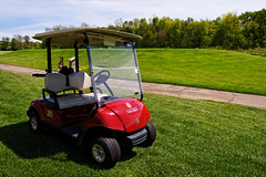 """My"" Golf Cart - Beechpoint Golf Marathon (bill.d) Tags: golf michigan marathon unitedstatesofamerica golfcart 2010 otsego xti campbeechpoint beechpoint beechpointchristiancamp golfmarathon lynxgolfcourse"