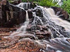 Duchesney Falls ND Filters 2 (CUCKOOPHOTHOG) Tags: camera ontario lens landscape waterfalls nd 12 filters 06 hitech province northbay canadianshield treesplants nikond300 tokinaatx116 duchesneyfalls hoyalpfpolarizercir