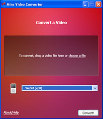 Miro Video Converter for Windows