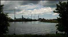 Canal Origins Park (urban nature) Tags: urbannature chicagoriver cityskyline