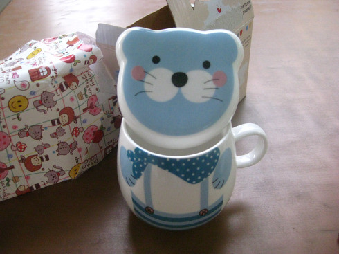 cute baby sea lion mug