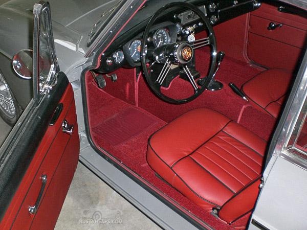 New interior, 1967 MGB GT