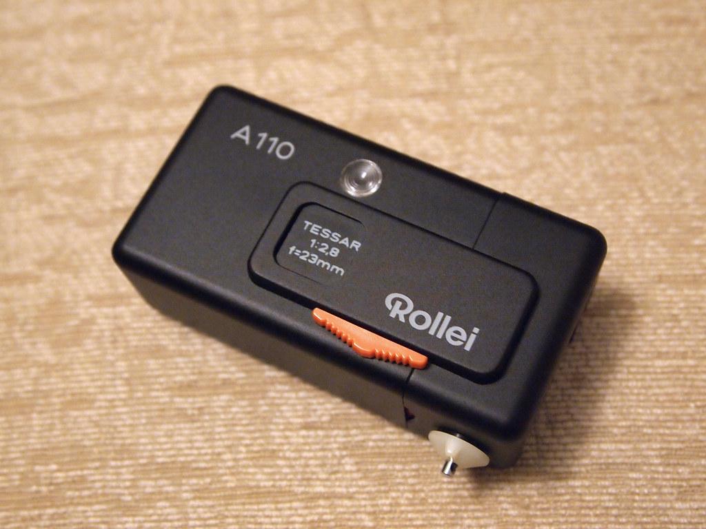 古董相機 antique camera rollei a110