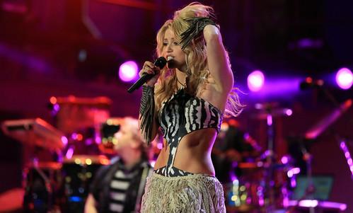 Shakira concierto Mundial Sudáfrica