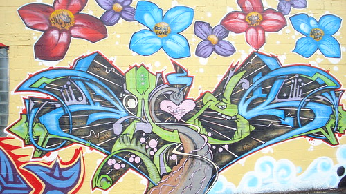 06/12/10 Mural (Part 2/4) - Downtown Minneapolis, MN