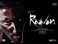[Poster for Raavan]