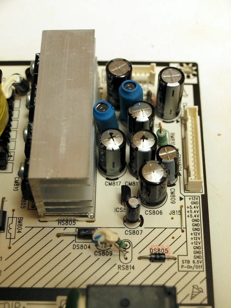 Defective Samsung capacitors