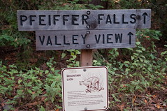 Pfeiffer Falls Trailhead Photo