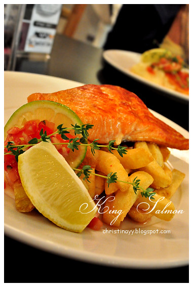 Kitt's Farewell Dinner: King Salmon