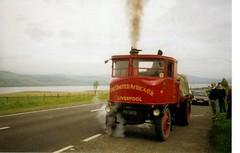 FA 1803 1924 Sentinel FA 1803, A9 Teanagairn (the Black Isle) (ronnie.cameron2009) Tags: steam vehicles lorry landsend restored preserved sentinel johnogroats roadrun steamlorry theageofsteam fa1803