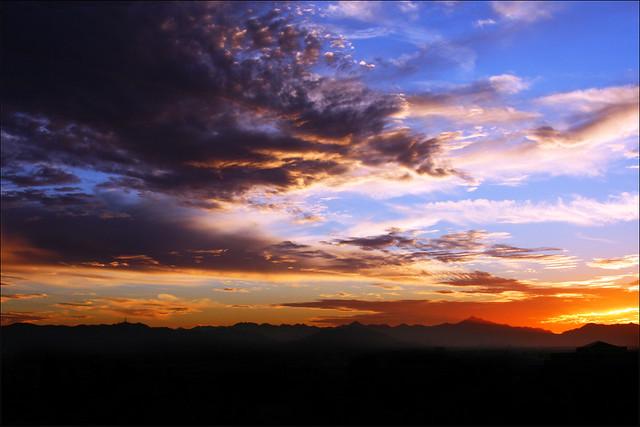 Papago Park Sunset