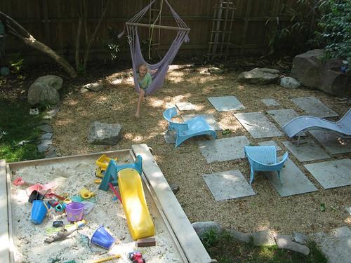 Family Friendly Backyard Ideas : Rocks Are Kid Friendly  Landscape Design Ideas