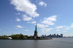 view from ferry (photos_mweber) Tags: nyc newyorkcity newyork statueofliberty freiheitsstatue