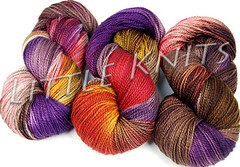 Fleece Artist Nova Socks at Little Knits