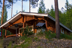 The perfect little cabin we rented 125 km north of Helsinki