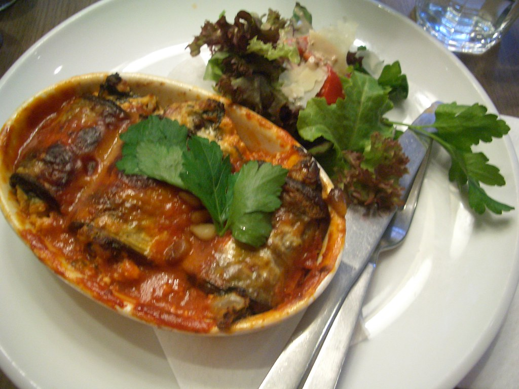Eggplant bake at Beetroot