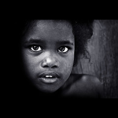 From darkness... (carf) Tags: poverty girls light brazil bw girl brasil kids dark children hope blackwhite kid community support child risk darkness naturallight forsakenpeople esperana social impoverished underprivileged afrobrazilian altruism eldorado shanty haunting favela development prevention flvia fright frightening atrisk mundouno diamondclassphotographer