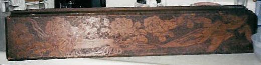 pyrographed glove box