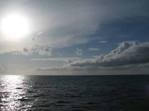 Ocean, Sun and Sky