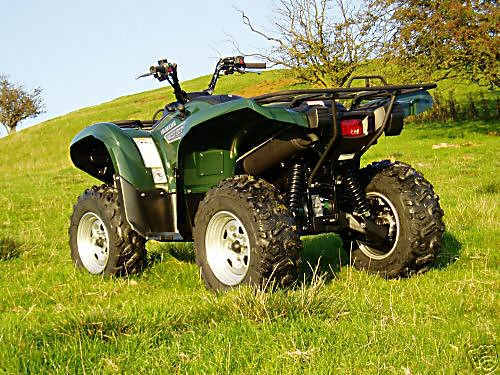 Yamaha Grizzly  Oil Change