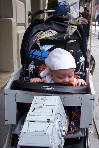 Diy At At Baby Stroller The Official Star Wars Blog