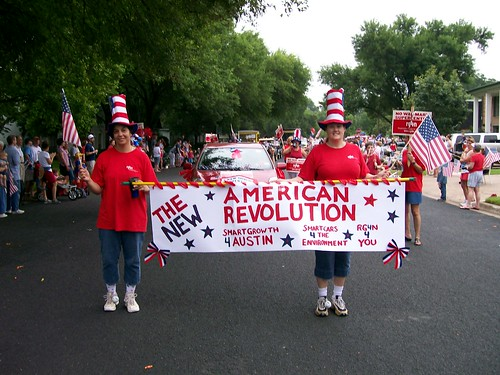 RG4N at the Allandale Fourth of July Parade