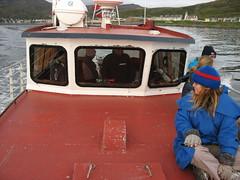Fishing at Hammerfest (Mervyn S) Tags: norway tour redstar topdeck