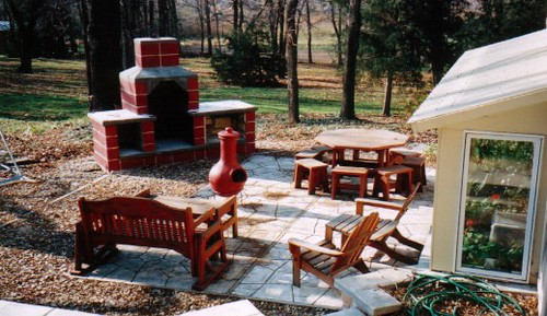 patio fall 2001