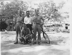Marines with and Interpreter (afigallo) Tags: usmc war pacific wwii ww2 marines saipan