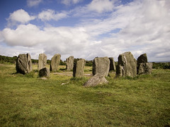 Drombeg Stone Circle - by karlequin