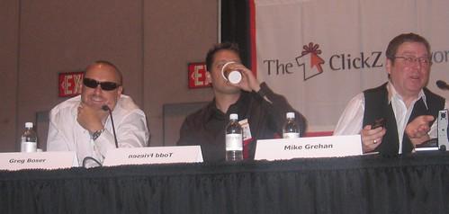 Greg Boser, Todd Friesen, Mike Grehan - SES San Jose 2007