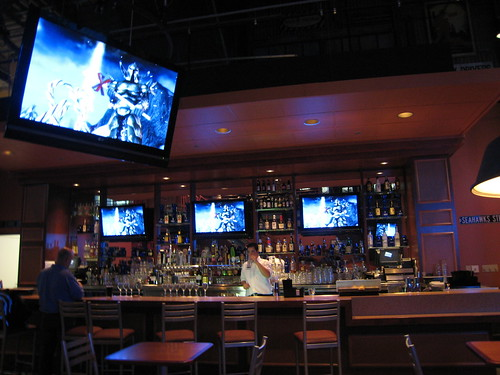 GameWorks Bar at the Guild Wars Party