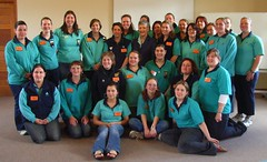 The whole course (anakiwa_forever) Tags: newzealand me rebecca susan group diane barbara wellington serena amelia picnik patron guiding girlguides inthelead silverstreamretreat