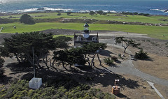 Pt Pinos Lighthouse & PG Golf Links (kyteman) Tags: california lighthouse golf montereybay pacificgrove links ptpinos