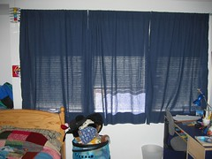 Paperino's curtains