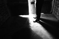 Let me taste the light (Ehsan Khakbaz) Tags: door light shadow blackandwhite bw dark shoe freedom blackwhite shoes darkness taste  ehsan    tasteoffreedom     ehsankhakbaz  khakbaz    impressedbeauty         letmetastethelight tasteoflight lighttaste