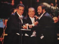 Plácido Domingo, José Carreras and Luciano Pavarotti. (07/16/1994)