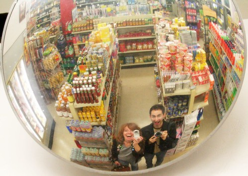 Reflections from a convenience store