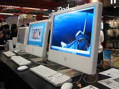 iMac (mgminthu) Tags: 2 digital hardware duo it monitors cpu gadgets core gpu motherboards