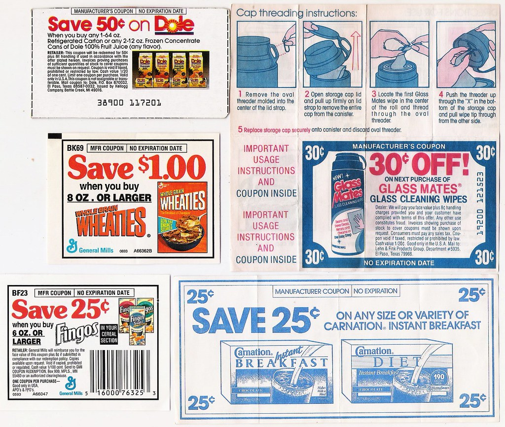 80's Coupons 2
