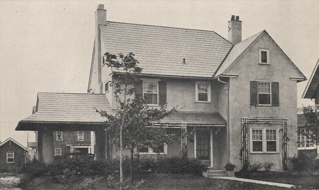 1785 Coventry Road in 1918 by UA Archives  Upper Arlington History
