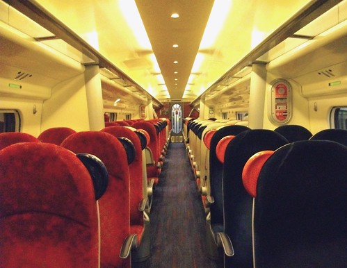 Private Carriage - Virgin Pendolino, Standard (2nd) Class, UK