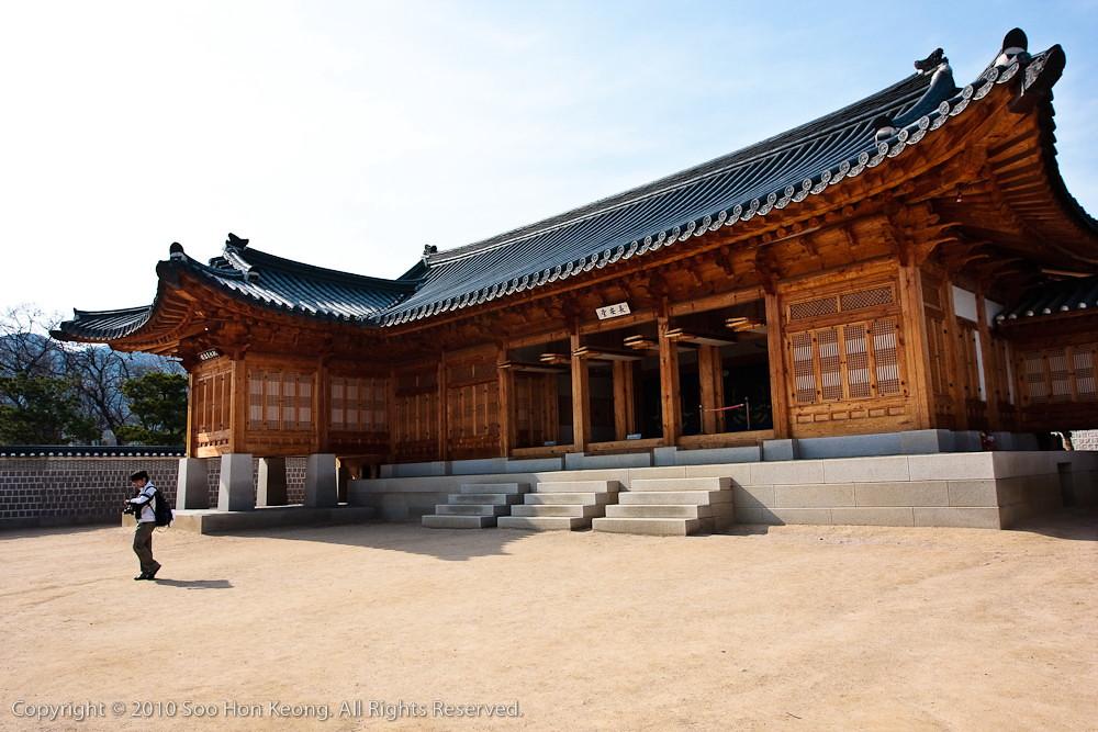 Gyeongbokgung palace @ Seoul, Korea
