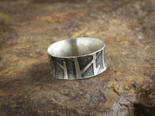 Tree Ring After Forging