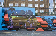 ASTEROID MSK (Heavy Artillery) Tags: uk london graffiti earth id msk ha asteroid poloroid roids roid steroid pref
